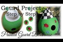 MISC Gourd Video Tutorials by Bernadette Fox / by Bernadette Fox
