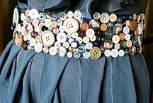 Button Crafts and Ideas / by Bernadette Fox