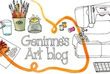My Favorite Artful Blogs and Shops / I like to surf the internet once in awhile just to check up on the art world a bit through the eyes of some artful bloggers. I wanted to share with you some bloggers who I always find inspiring. Many of them have their own Etsy shop so make sure to check that out, too! / by Bernadette Fox