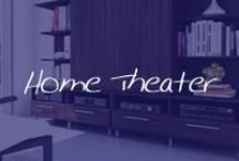 Home: Home Theater / Whether your home theater is small or large, everyone needs a place to kick back and watch a great movie. / by Cymax