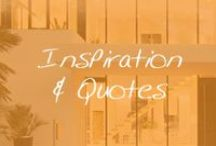 Living: Inspiration & Quotes / Quotes that make a house a home. / by Cymax