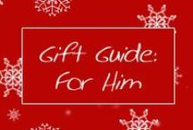 Holiday Gift Guides 2013: For Him / by Cymax
