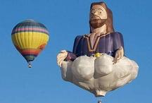 hot air balloons / by Sandi White Thomas