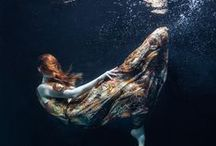 Underwater Photography / Underwater fashion and conceptual photography. www.makiela.com / by Rafal Makiela