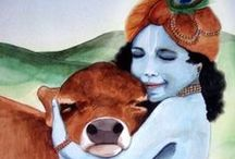 Krishna / Chant the Maha Mantra, and your life will be sublime: Hare Krishna Hare Krishna Krishna Krishna Hare Hare Hare Rama Hare Rama Rama Rama Hare Hare / by Donya Lane