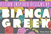 "Featured ""Bianca Green"" Designs / Our newest featured artist Bianca Green born in Rio de Janeiro, Brazil, inspired by South America! / by M-Edge"