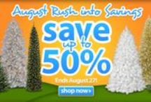 Sale! / by Treetopia Artificial Christmas Trees