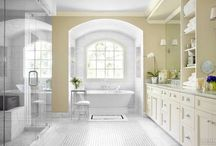 Bath Design / Contemporary, Transitional, Traditional Bath & Home Spa Designs / by Wendy Tomoyasu
