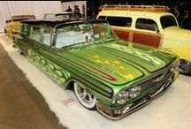 Auto Art / Insane rides, amazing creations, the coolest, most awesome art on wheels! / by Andrea Baumann