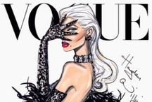 Fashion Illustrations / I only wish I could sketch like this!!  / by Lisa Biernacki