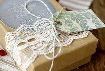 Gift wrap and tag ideas / Gift wrapping ideas / by Jen Rizzo