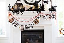 Holiday:Bootiful Halloween decor / Halloween decorating ideas / by Jen Rizzo
