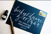 Calligraphy / by Molly Robinson