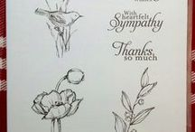 Cards - Simply Sketched & Wetlands / by Char Laster