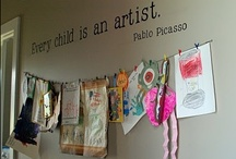 Art Displays / by Deborah @ Teach Preschool