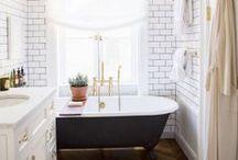 bathroom inspiration / by christina