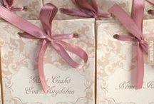 crafts_wedding invitations & menus by AMARE / by Orsi Glavanovics
