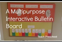 Bulletin Board Ideas / by Deborah @ Teach Preschool