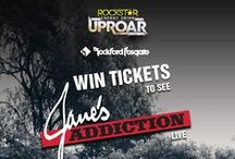 Rockford Promotions / Rockford Fosgate promotional ticket giveaways and product prizes. / by Rockford Fosgate