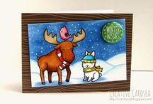 Winter Fun- Lawn Fawn / Winter Themed Cards and Projects featuring our winter Critters and sets / by Lawn Fawn
