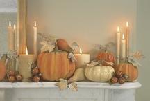 Seasonal Mantel Decor / by Brenda Hall