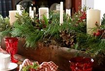 Christmas Table  / by Brenda Hall