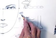 draw / Sketching and drawing. / by Renee Pearson