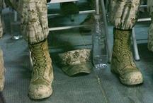 heros wear combat boots / by Elizabeth White