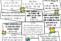 Math Class Ideas / anything I think could be helpful in teaching math to my sweet 4th graders! / by Danielle Scott