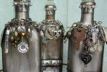 Altered Bottles Beautiful / by Linda Vogel