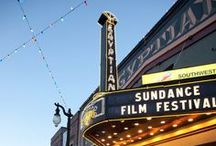 Sundance Film Festival / Robert Redford's Sundance Film Festival is held in Park City and the surrounding areas each January.  / by Park City Lodging, Inc.