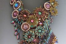 Jewelry Inspiration / Handcrafted jewelry that inspires me. #beading #beadweaving #beadart #jewelry / by Mary Lindell