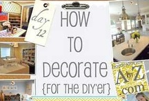 DIY Decor / This is the spot for all things DIY, mostly for the home, but some for you too! / by Mountain House