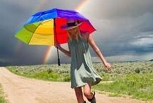 ☂ Under My Umbrella ☂...Bring on the Rain ☂ / Meet Me in the Pouring Rain / by ✥  ♕  ✥  Kristen Bollman  ✥  ♕  ✥