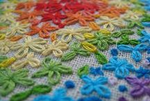 Craft -Embroidery, crochet and fabric  / by Jen Coffey