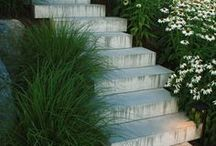 """Hardscape Inspirations / These unique and beautiful hardscape surfaces are sure to bring drama and elegance into any landscape. Take a look and see if there's anything that catches your eye. To see any of our custom designs and projects visit any of our boards labeled """"SL"""". Also, visit our hardscape page to learn more: http://scarlettslandscaping.com/services/hardscape/ / by Scarlett's Landscape, Inc."""