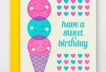 Birthday Cards / by Hello!Lucky | Eunice & Sabrina Moyle