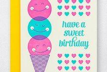 Birthday Cards / by Hello!Lucky | Eunice & Sabrina Moyle