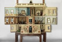 Dollhouse and Miniatures / Collection of Dollhouses and Miniatures / by Miniatures by June Clinkscales