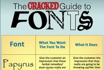 Fonts / by Michele Garlit