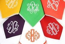 i heart monograms / by Courtney Adams Design