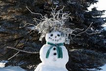 snowmen / by Susan Schmarkey