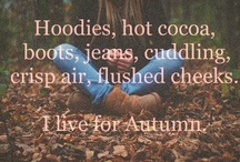 Autumn is Amazing / I live for Fall!  All my favorite homey and halloween ideas.  All in one place! / by Heather Britton Davis