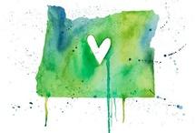 Oregon Love / I love Oregon.  The end. / by Heather Britton Davis