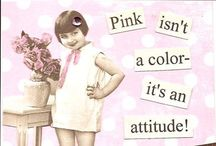 Color My World PINK! / Everything pink / by Stephanie Currey-Weber