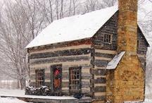 Cabins / by Pamela Flannery Stevens