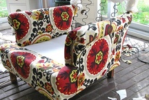 re-upholstery / by Wendy Wilson