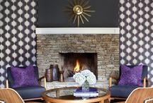 Patterns, Textures and Artwork / Spark your inner muse with lush layers of textiles and eye popping works of art. / by HGTV