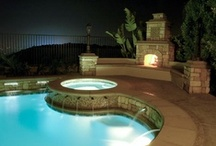 Cool Pools from HGTV.com / See some of the most elaborate swimming pools and get ideas for your dream backyard. / by HGTV