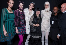 Behind the Scenes / Detail shots, and a glimpse of what goes on backstage before an Anna Sui Fashion Show.  / by Anna Sui